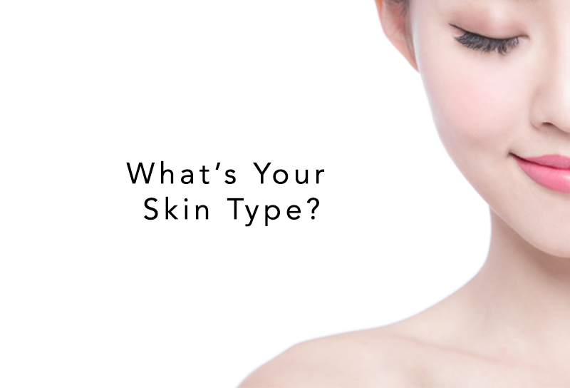Knowing your skin type